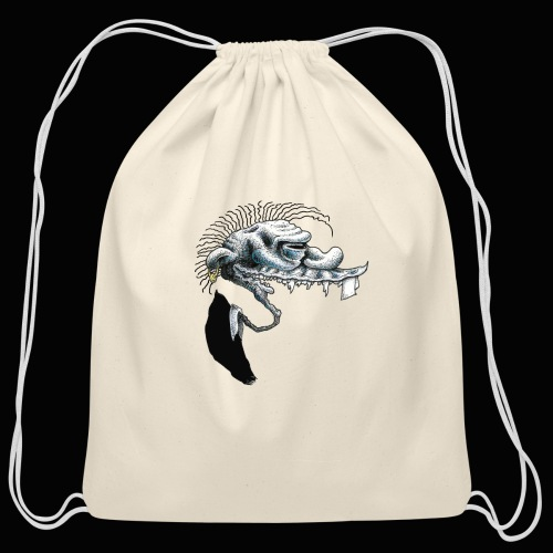 Punk Rock Hooligan - Cotton Drawstring Bag
