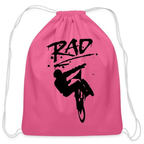 RAD BMX Bike Graffiti 80s Movie Radical Shirts - Cotton Drawstring Bag