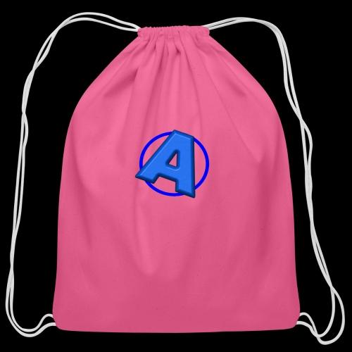 Awesomegamer Logo - Cotton Drawstring Bag