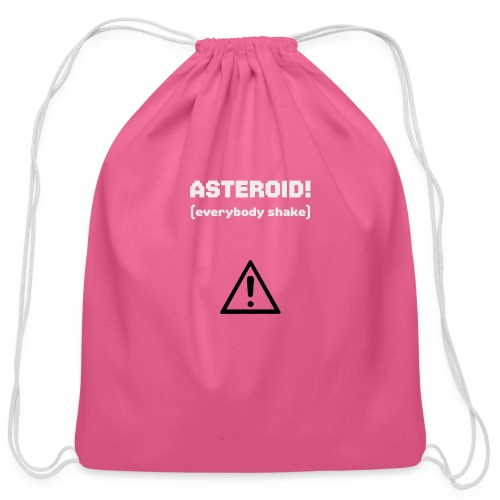 Spaceteam Asteroid! - Cotton Drawstring Bag