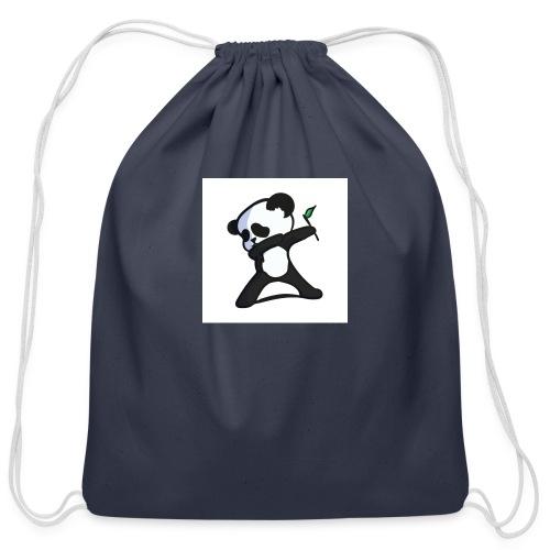 Panda DaB - Cotton Drawstring Bag