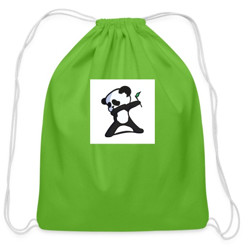 Panda DaB - Cotton Drawstring Bag