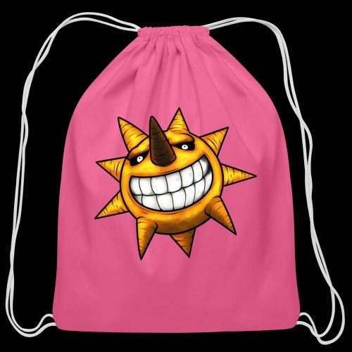 Soul Eater Sun - Cotton Drawstring Bag