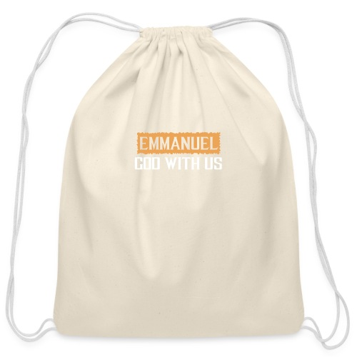TESTIMONY OF JESUS TEES - Cotton Drawstring Bag