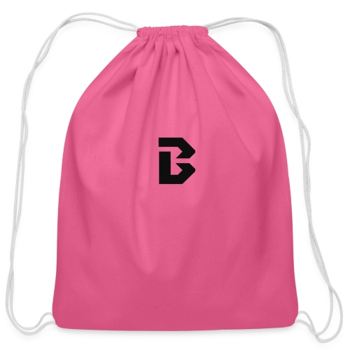 Click here for clothing and stuff - Cotton Drawstring Bag