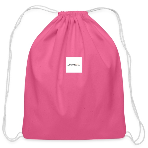 YouTube Channel - Cotton Drawstring Bag