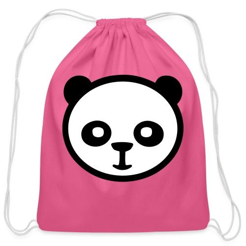 Panda bear, Big panda, Giant panda, Bamboo bear - Cotton Drawstring Bag