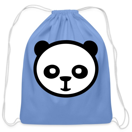 Panda bear, Big panda, Giant panda, Bamboo bear - Cotton Drawstring Bag