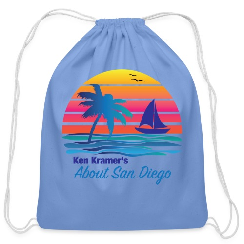 Ken's Exciting Color Logo - Cotton Drawstring Bag