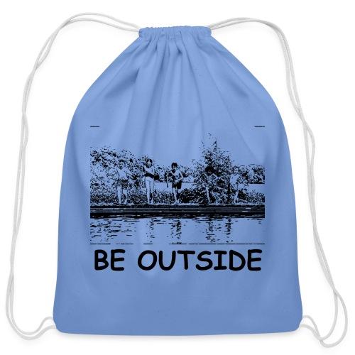 Be Outside - Cotton Drawstring Bag