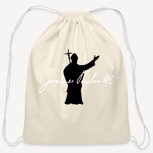 Joannes Paulus II - Cotton Drawstring Bag