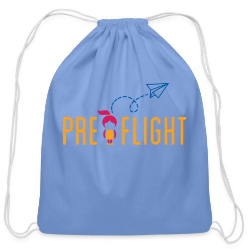 PreFlight Aviation Camp - Cotton Drawstring Bag
