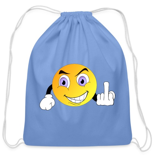 Fuck Off - Cotton Drawstring Bag