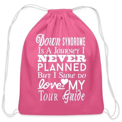 Down syndrome Journey - Cotton Drawstring Bag