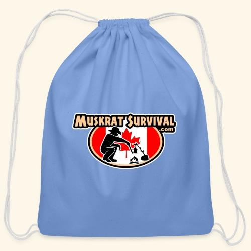 Muskrat Badge 2020 - Cotton Drawstring Bag