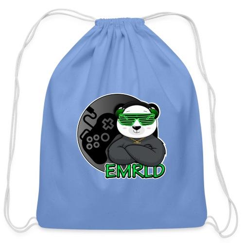 Emerald Logo - Cotton Drawstring Bag