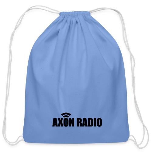 Axon Radio   Midnight label apparel - Cotton Drawstring Bag