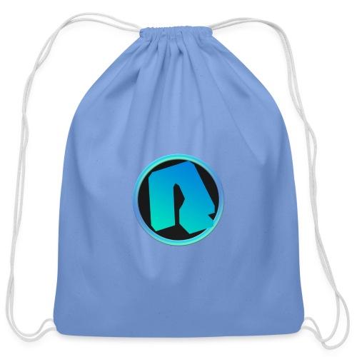 Channel Logo - qppqrently Main Merch - Cotton Drawstring Bag