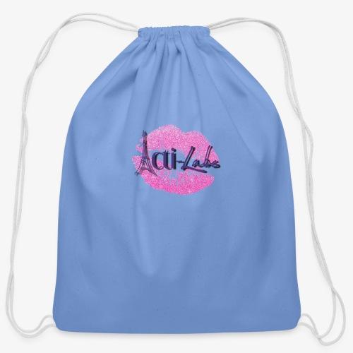kiss - Cotton Drawstring Bag
