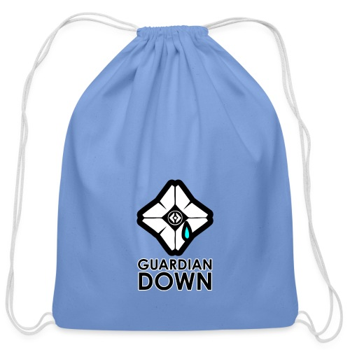 Guardian Down Ghost - Cotton Drawstring Bag