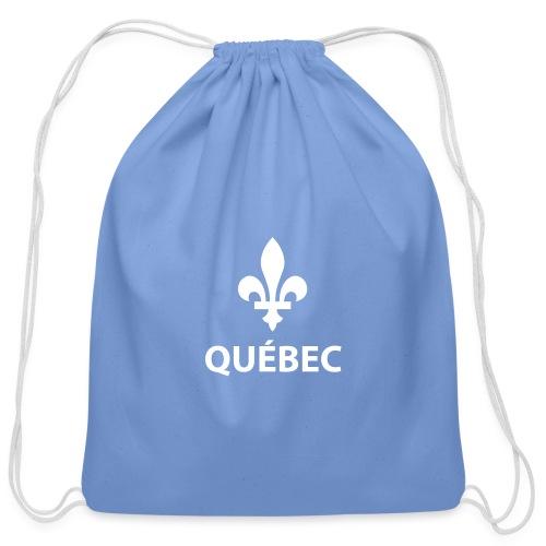 Québec - Cotton Drawstring Bag