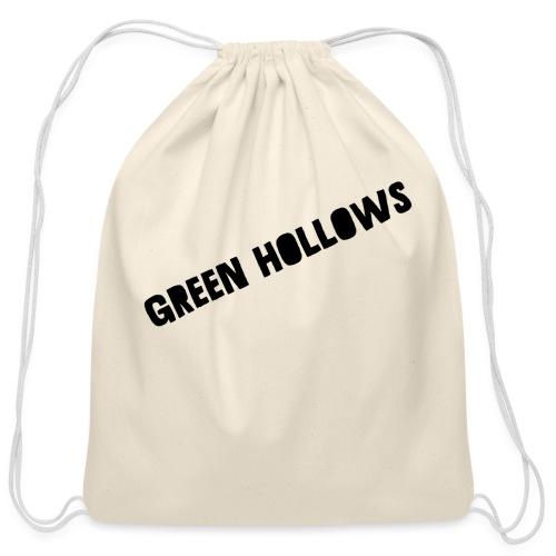 Green Hollows Merch - Cotton Drawstring Bag