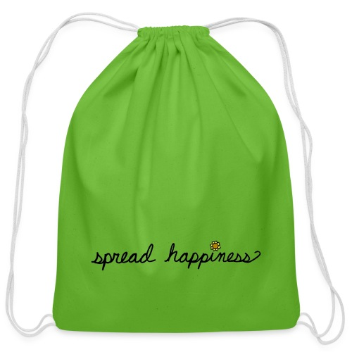 Spread Happiness Women's T-shirt - Cotton Drawstring Bag