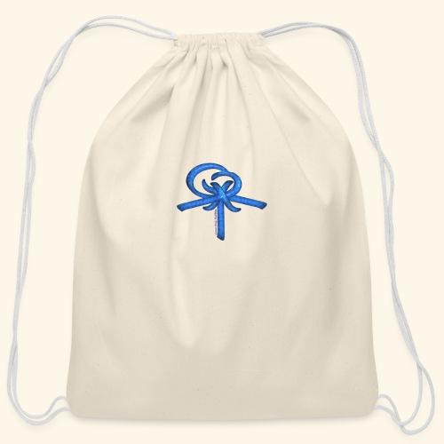 Back LOGO LOB - Cotton Drawstring Bag