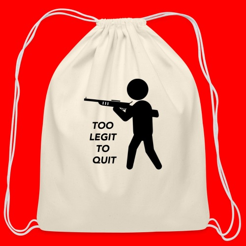 OxyGang: Too Legit To Quit Products - Cotton Drawstring Bag