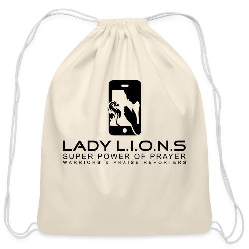 Lady Lions BY SHELLY SHELTON - Cotton Drawstring Bag