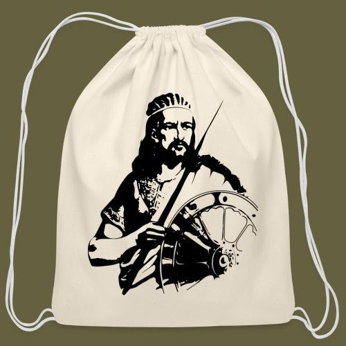 Atse Tewodros - Cotton Drawstring Bag