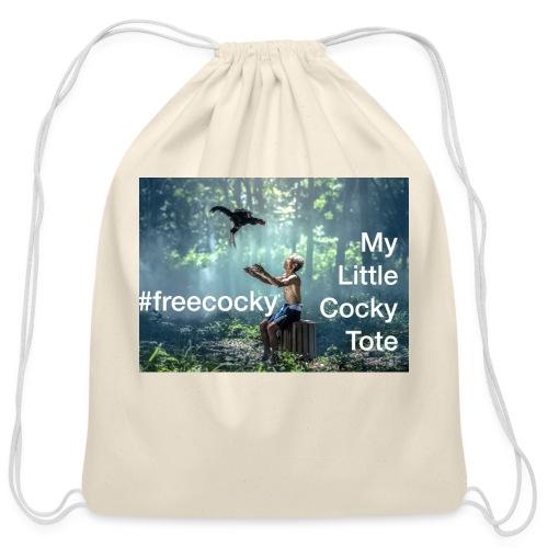 Free Cocky Tote Bag - Cotton Drawstring Bag