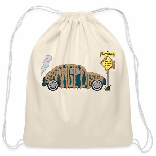 Strange Design - Cotton Drawstring Bag