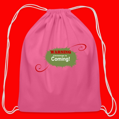 Christmas_is_Coming - Cotton Drawstring Bag
