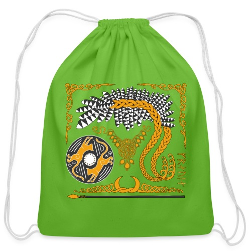 Freya's Tears - Cotton Drawstring Bag