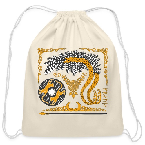 Freya's Tears - Cotton Drawstring Bag