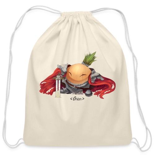 Onion Knights - Women's Pink - Cotton Drawstring Bag