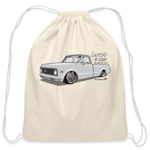 Long & Low C10 - Cotton Drawstring Bag