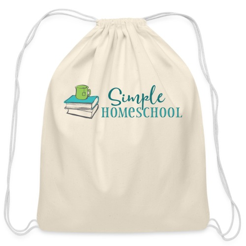 Simple Homeschool Logo - Cotton Drawstring Bag