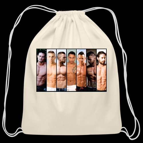 Hong Kong 2018 BILLBOARD - Cotton Drawstring Bag