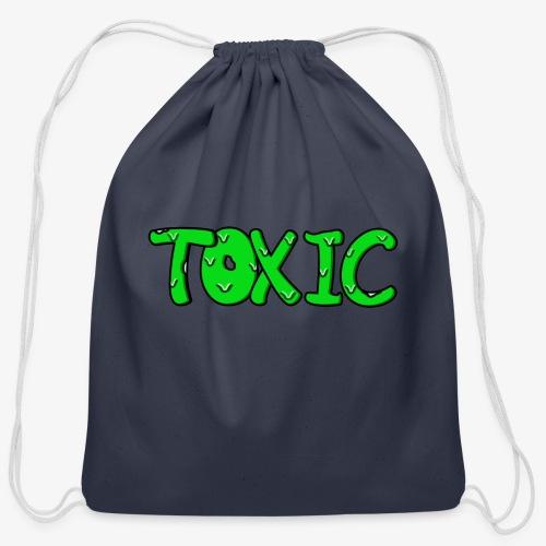 Toxic design - Cotton Drawstring Bag