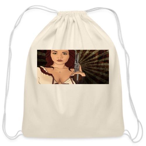 jjj copy png - Cotton Drawstring Bag