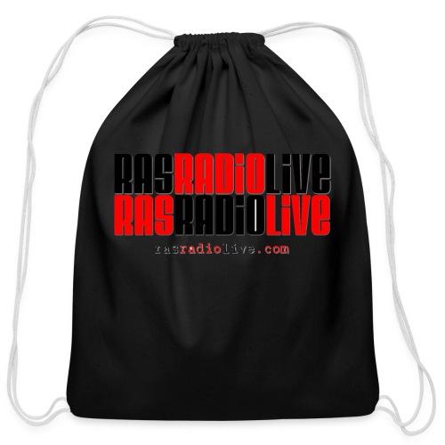 rasradiolive png - Cotton Drawstring Bag