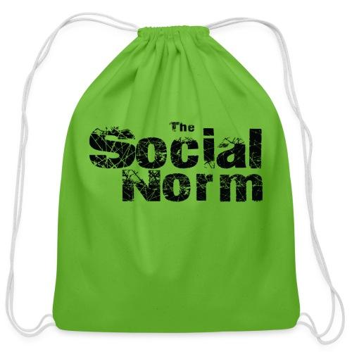The Social Norm Official Merch - Cotton Drawstring Bag