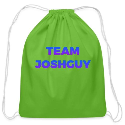 Team JoshGuy - Cotton Drawstring Bag