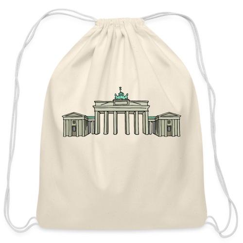 Brandenburg Gate Berlin - Cotton Drawstring Bag