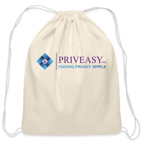 Design 1 - Cotton Drawstring Bag