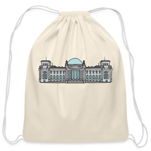 Reichstag building Berlin - Cotton Drawstring Bag