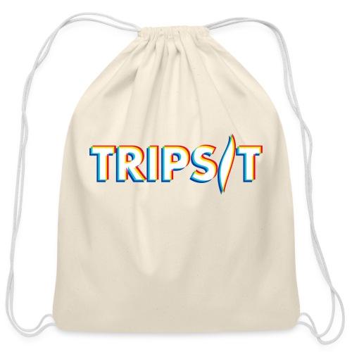 TripSit Logo (No URL) - Cotton Drawstring Bag