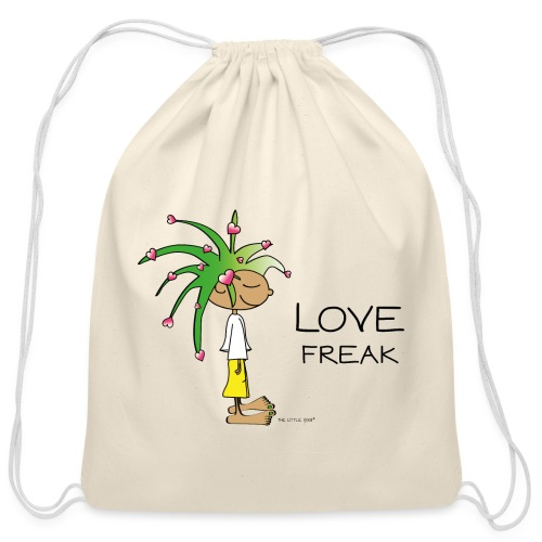 Love Freak - Cotton Drawstring Bag